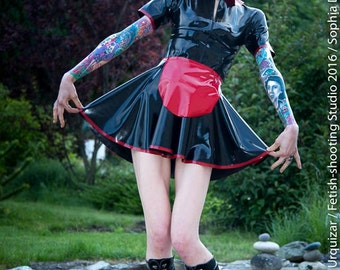 Latex Dress, Maid Dress and Apron