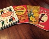 Collection of Four Vintage Pennsylvania Dutch Cookbooks 1940s-60s