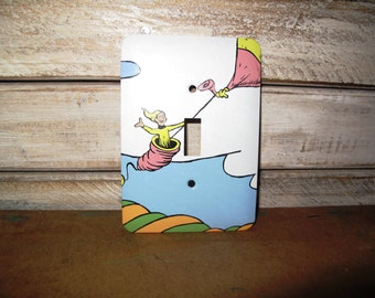 Dr. Seuss Switch Plate