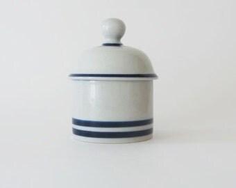 Vintage Dansk Blue Mist Jam Jelly Jar
