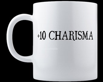 Plus Ten Charisma Mug, 11oz or 15oz