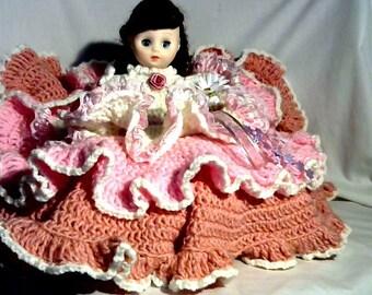 Flower pillow doll