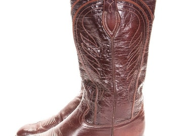 30% OFF Cowboy Boot Size 7M Womens size Made by Dan Post