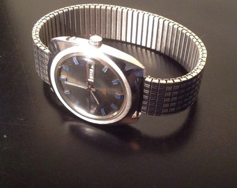 Vintage Mens Ricoh 5 Automatic Watch