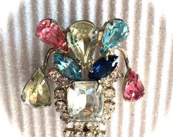Vintage Art Deco Brooch 1940s
