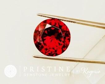 Portuguese Cut Garnet Over 12 Carats wholesale Loose Gemstone for Pendant January Birthstone