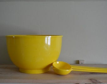 Dansk Denmark Yellow Serving Set by Gunnar Cyren