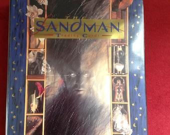 Sale Sandman Trading Card Binder and Skybox Card Set Delirium Foil Card & Vertigo Comics Cards