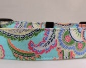 Dog Collar - Dog, Martingale or Cat Collar - All Sizes  - Light Blue Paisley