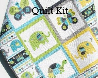 View Baby Quilt Kits By Sunnysidefabrics On Etsy