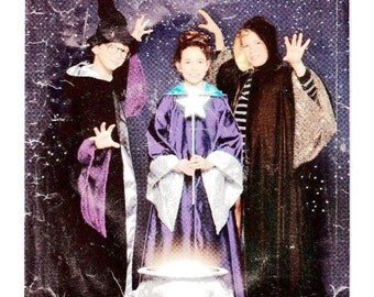 Simplicity 9372 Harry Potter Child's Robe, cloak and Hat, Size 7,8,10,12,14 Think Wizard, Warlock, Magician, Witch