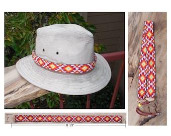 Southwest design Hatband No.15