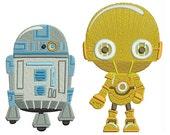 R2D2 boy Darth Vader Princess Leia Yoda blanket star wars blanket Disney Pooh Mickey embroidered blanket