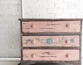 Vintage Petite Cabinet/Dresser