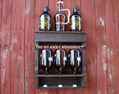 Growler drying rack