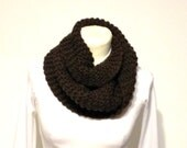 Outlander Inspired Cowl Claire's Knit Scarf PDF File Knitting Pattern Circular Chunky Neck Warmer