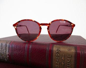 vintage 80s tortoise shell eyeglasses - frames, glasses