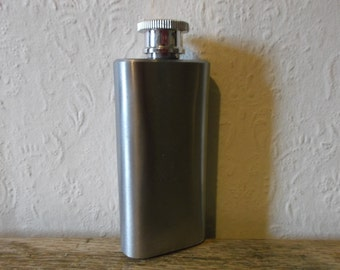 Vintage Men's Pocket Flask English Breweriana
