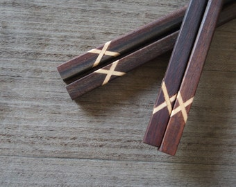 Wooden Chopsticks Hairpin Unique Design & High Quality 100% Handmade