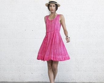 Summer SALE Sundress, pink.
