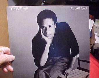 Al Jarreau This Time very NM BSK 3434 Vintage 1980 Vinyl LP Record 759923434-1