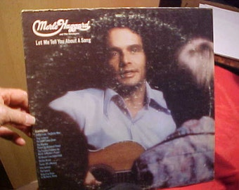 Merle Haggard Let Me Tell You About a Song Capitol ST 882 Stereo Vintage 1972 Vinyl LP Record