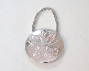 SALE: Classy Silver Sand Dollar Key Chain