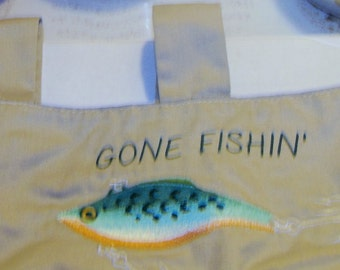 Walker Organizer w/embroidered Gone Fishing Emblem