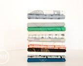 Carkai Coastal Palette Half Yard Bundle, 14 Pieces, Carolyn Friedlander, Robert Kaufman Fabrics, 100% Cotton Fabric, AFR-15790