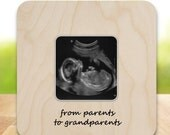 Ultrasound Frame Sonogram Frame from parents to grandparents NAS