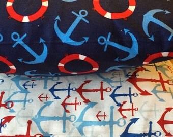 Nautical Theme Nursery Pillow w/ Pocket