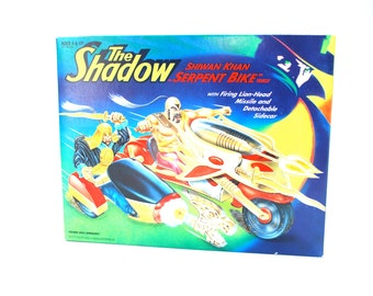 The Shadow Shiwan Khan Serpent Bike MIB 1994