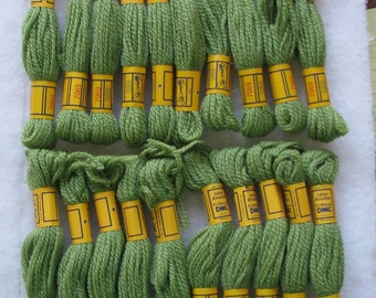 108 Yards DMC 3-Ply Needlepoint/Crewel Yarn 7069 Med Green