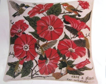 Its Polite To Point Hummingbird Needlepoint/Tapestry Kit