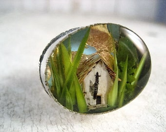 Tiny Terrarium Ring Number 29