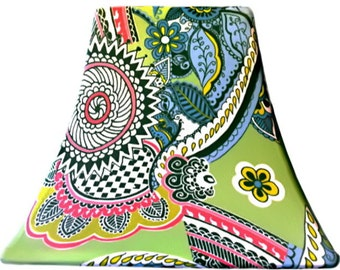 Kelly Floral - SLIP COVERS for lampshades