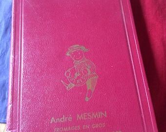 Vintage French 1966 diary/agenda/accounts book unused