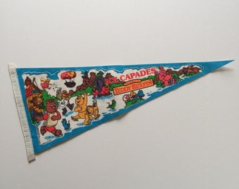 1985 Teddy Ruxpin Ice Capades Flag