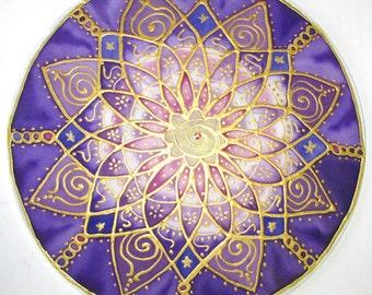 Crown chakra mandala art, Crown Chakra, spiritual, reiki art, mandala art, chakra art, spiritual art, New age art, meditation art, yoga art