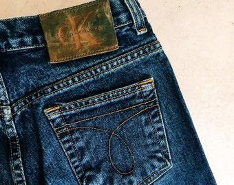 Vintage 1980s 1990s Calvin Klein Jeans / 80s 90s Jeans / Size 5