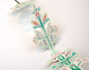 Paper Tree Hanging Decoration
