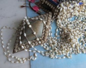 Vintage Mother Of Pearl Rosary Chain