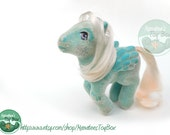 My Little Pony Wind Whistler So Soft: Vintage 80s Hasbro Toy