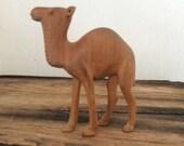 Tiny vintage carved camel