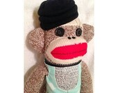 Sock Monkey - Willow