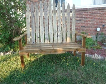 Reclaimed Pallet wood Large outdoor indoor bench Game of thrones inspired