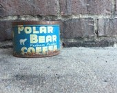 Polar Bear Coffee can