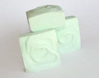 Jasmine Green Tea  Shampoo Bar / Natural Hair Care/ Solid Shampoo,  SLS Free  Solid Shampoo for Natural Hair Care