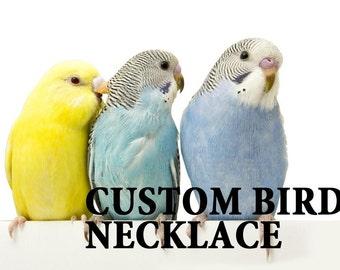 CUSTOM your lovely bird necklace