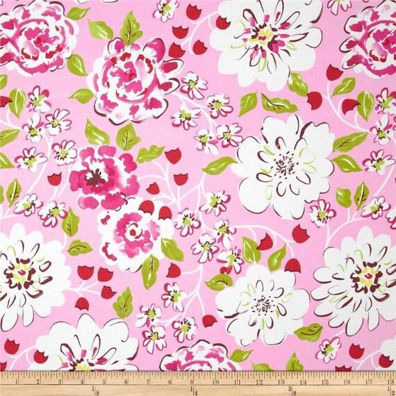 18 x 20 laminated cotton fabric similar to oilcloth ying for Dena designs tea garden fabric